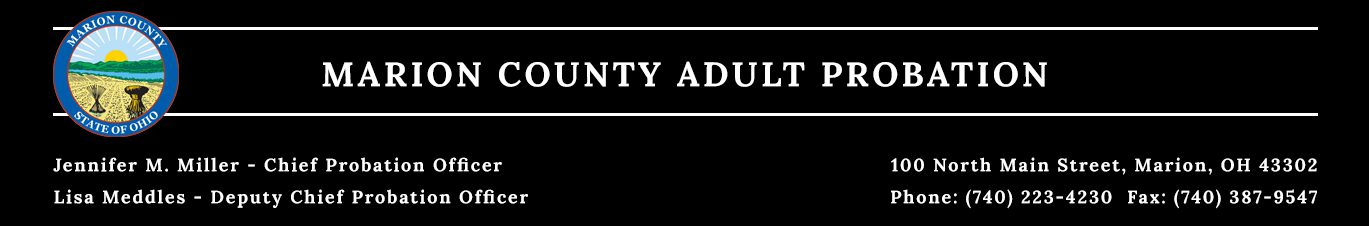 Adult Probation - Marion County, Ohio