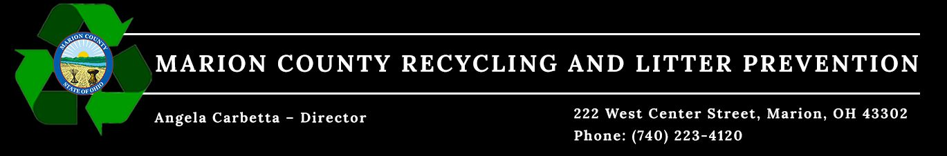 Recycling and Litter Prevention - Marion County, Ohio