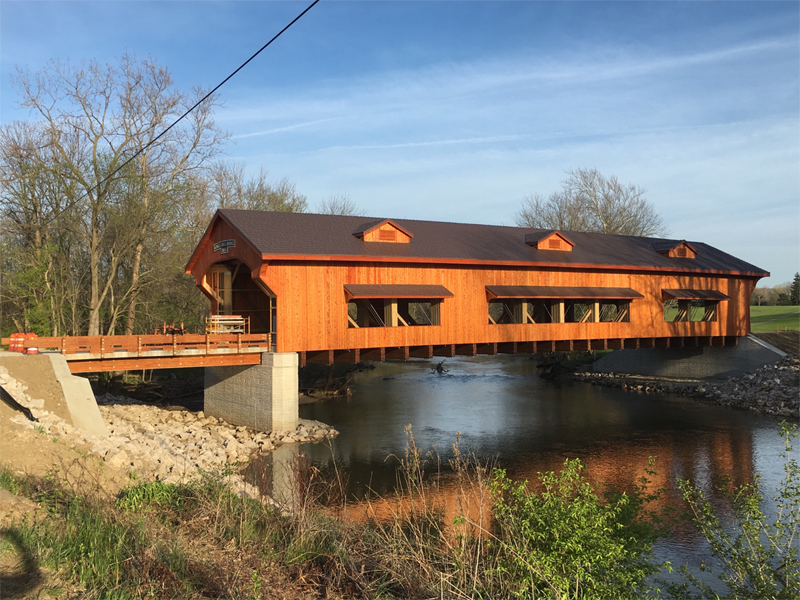 St. James Rd Covered Bridge